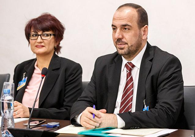 Naser al Hariri, jefe de la delegación del ACN