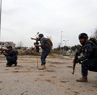 La Policía federal de Irak (archivo)