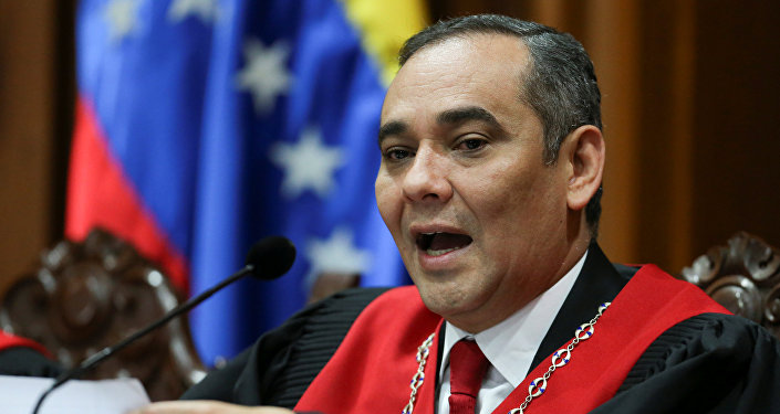 Maikel Moreno, presidente del Tribunal Supremo de Venezuela