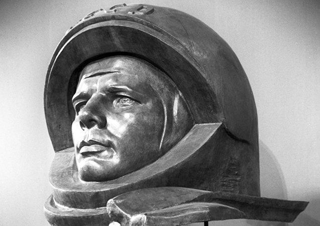 Yuri Gagarin, el cosmonauta soviético y primer ser humano en salir al espacio exterior