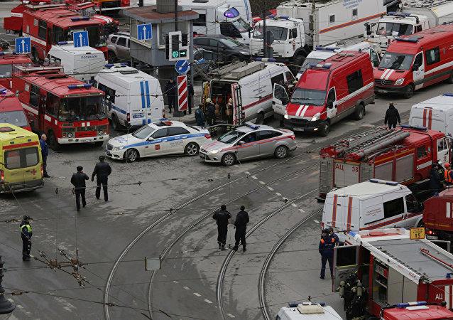 Situación en Petersburgo tras explosión