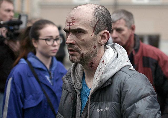 Un herido en explosión en San Petersburgo
