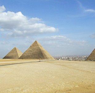 Las pirámides de Giza, Egipto (imagen referencial)