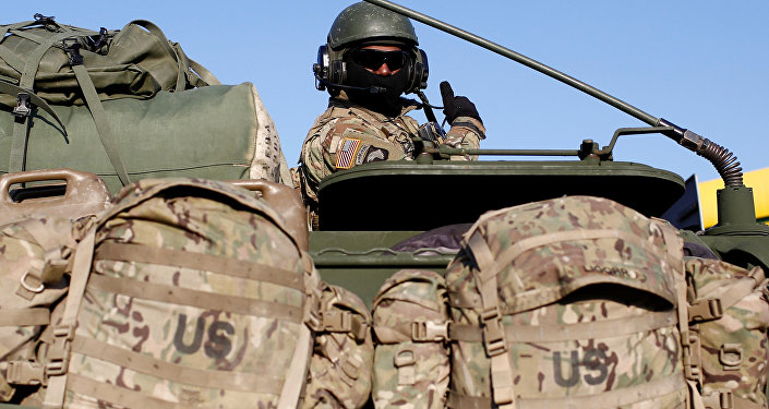 Soldado de las fuerzas de la OTAN