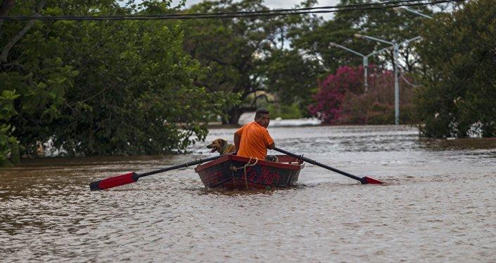 Inundaciones en Argentina (archivo)