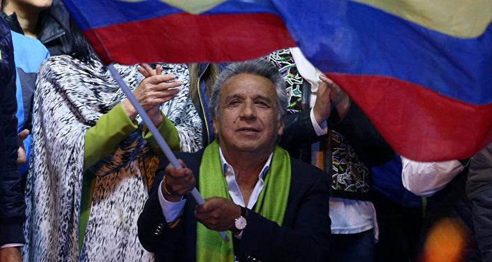 Lenín Moreno, presidente de Ecuador (archivo)