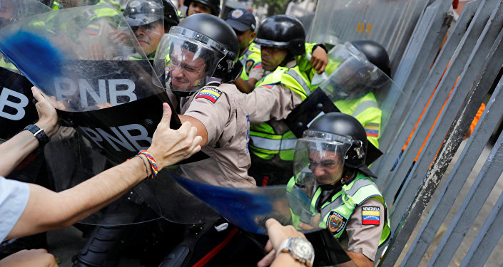 Altercados en Caracas, Venezuela (archivo)