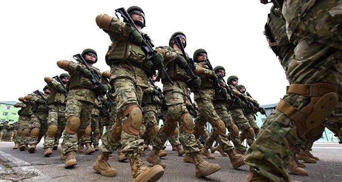 Soldados de Georgia (archivo)