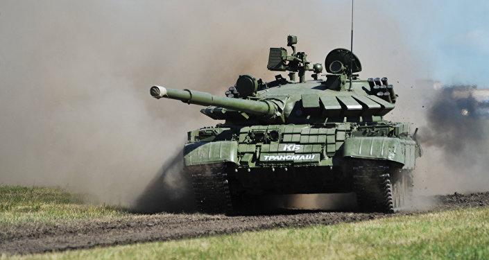Un tanque T-62 (archivo)
