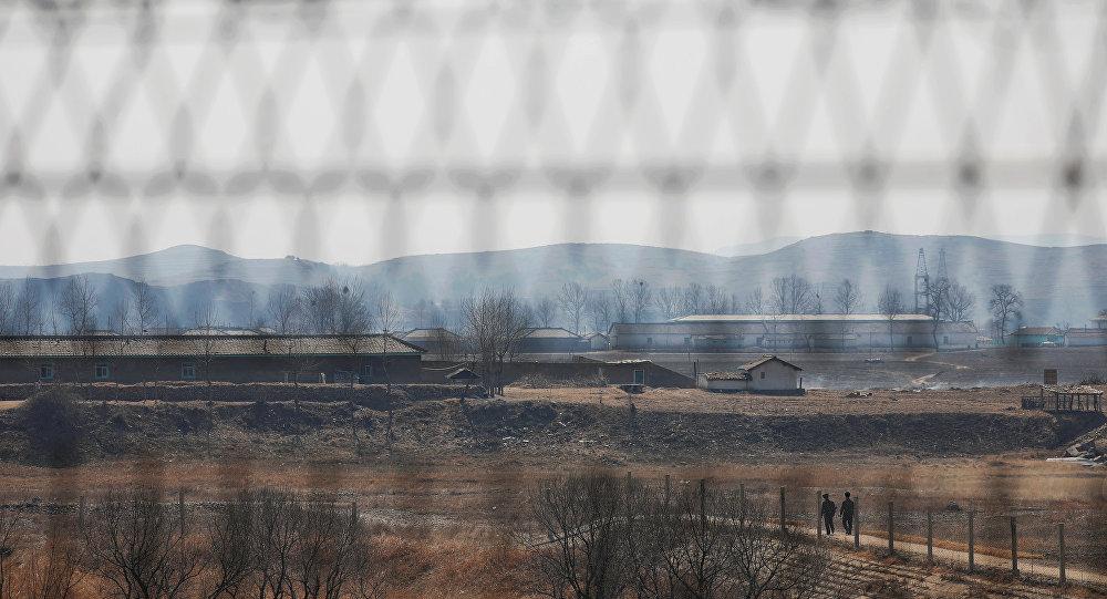 La frontera chino-norcoreana