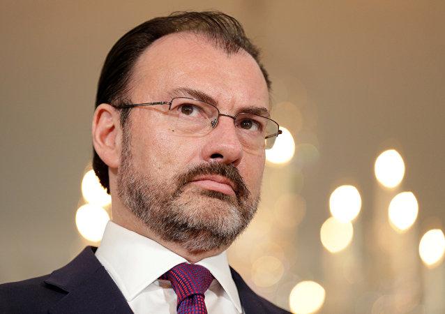 Luis Videgaray, canciller de México (archivo)