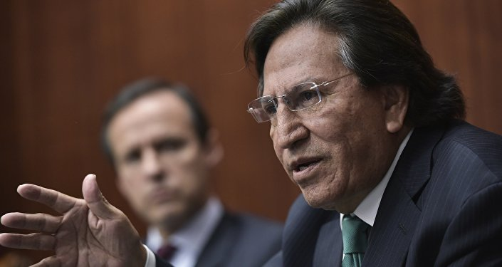 Expresidente de Perú, Alejandro Toledo