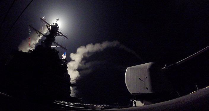 Ataque de EEUU contra la base en Siria