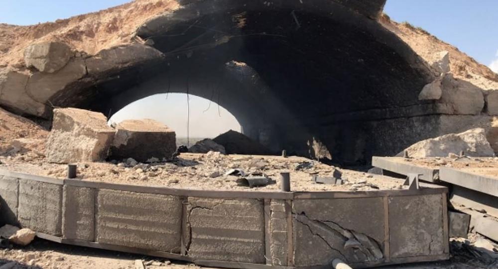 Publican imágenes de las consecuencias del ataque de EEUU a Siria