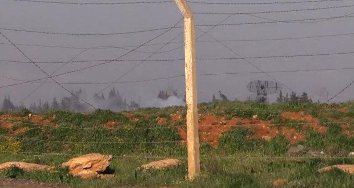 Así quedó la base siria tras el ataque de EEUU (vídeo)