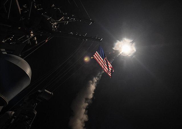 Estados Unidos lanzó un ataque con misiles contra una base aérea en Siria