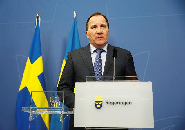 Stefan Löfven, primer ministro de Suecia