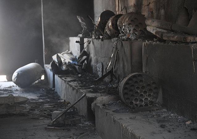 Las consecuencias del bombardeo de EEUU sobre la base aérea de Shairat