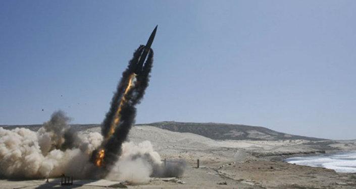 El lanzamiento de un misil norteamericano