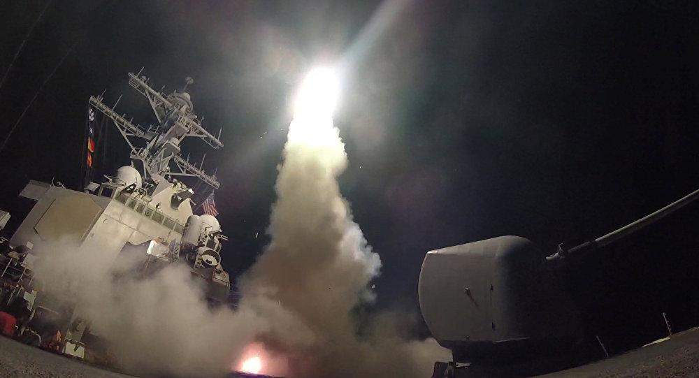 Ataque de EEUU contra Siria (archivo)