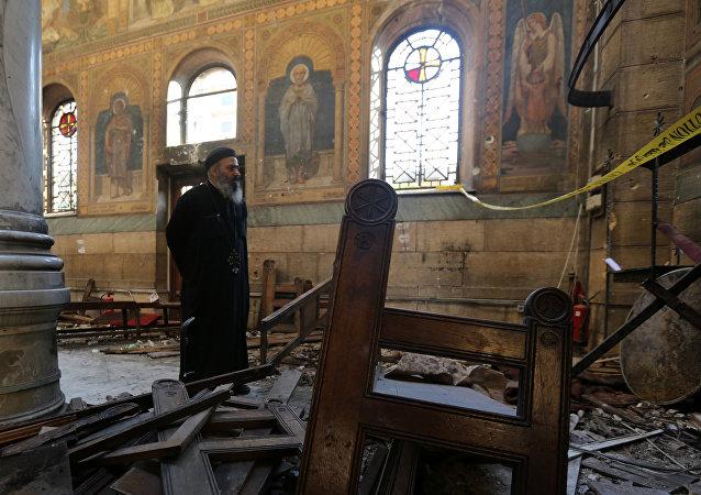 Explosiones en las iglesias coptas de Egipto