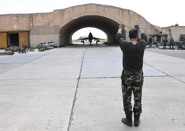 Base siria de Shairat (archivo)