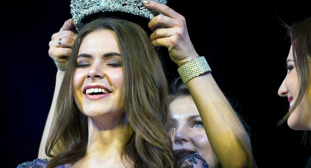 Natalia Bochkova, la ganadora del concurso de belleza Miss República de Crimea 2017