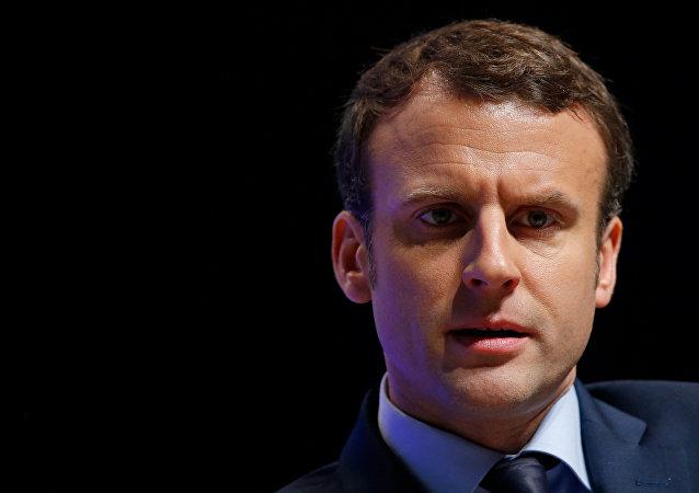 Emmanuel Macron, candidato a la presidencia de Francia
