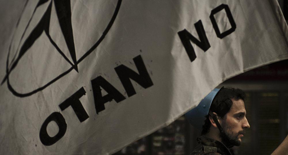 Bandera anti-OTAN