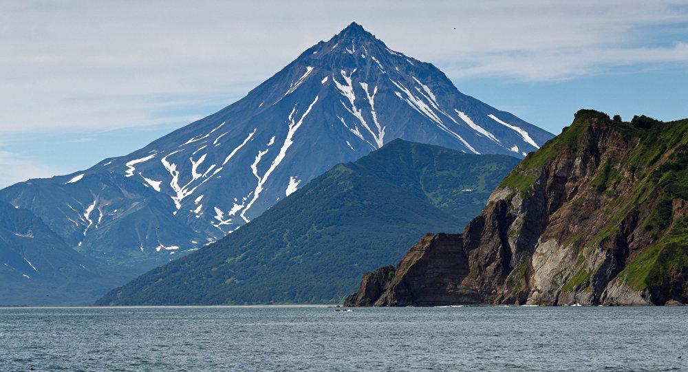 Volcán Viliuchinski en Kamchatka