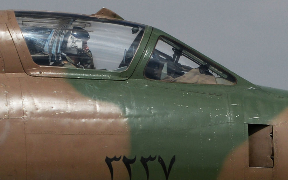 Así funciona la base aérea de Shairat tras el bombardeo de EEUU