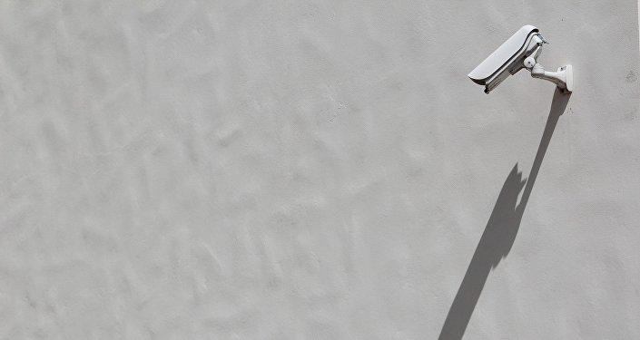 Una cámara de vigilancia (imagen referencial)