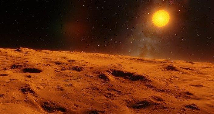 Un objeto espacial (imagen referencial)