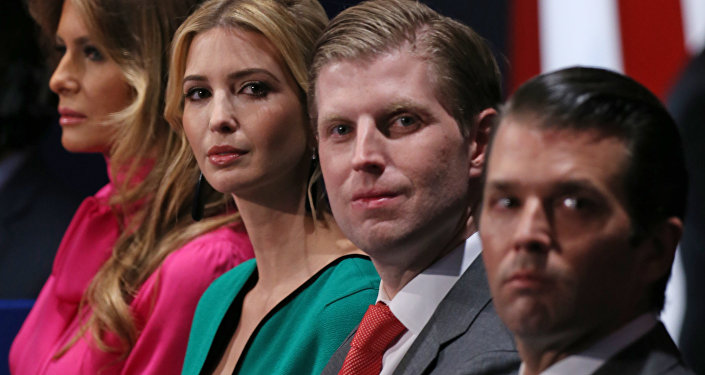 Ivanka y Eric Trump