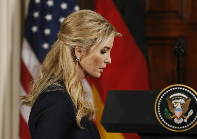 Ivanka Trump, hija mayor de Donald Trump, presidente de EEUU