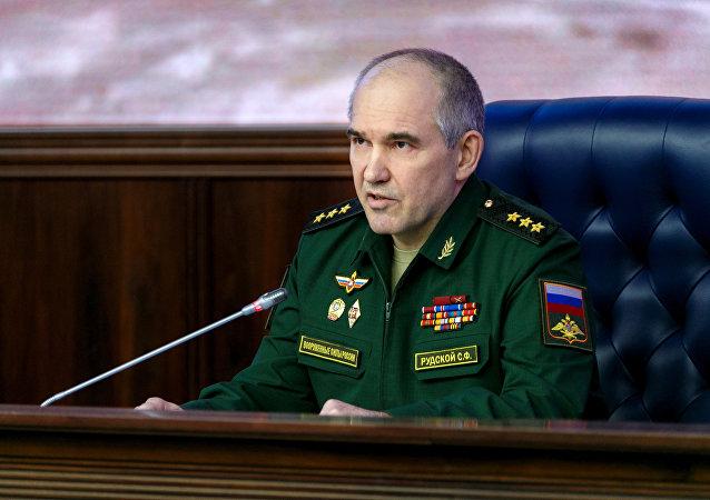 Serguéi Rudskói, jefe de la Dirección de Operaciones del Estado Mayor ruso