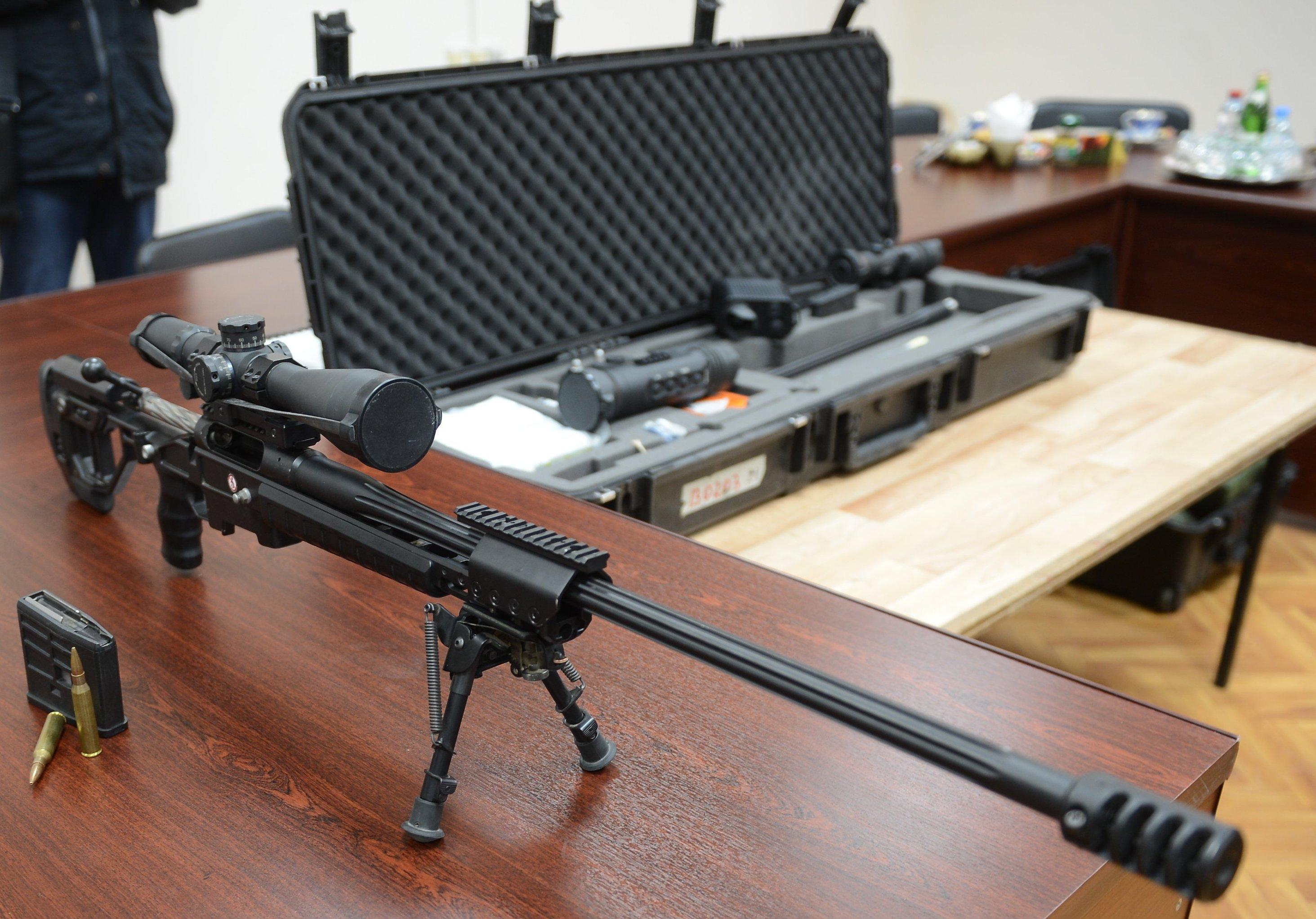 El innovador fusil de francotirador Tochnost (Precisión, en español)