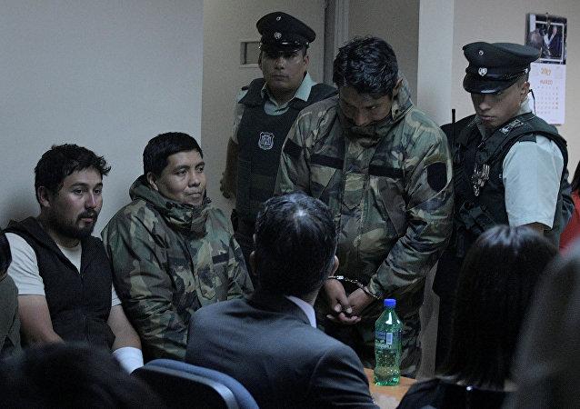 Bolivianos detenidos en Chile