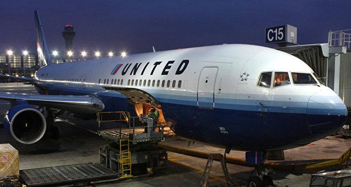 Un avión de United