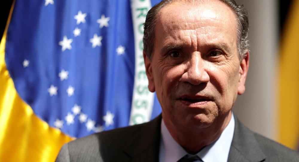 Aloysio Nunes, canciller de Brasil (archivo)