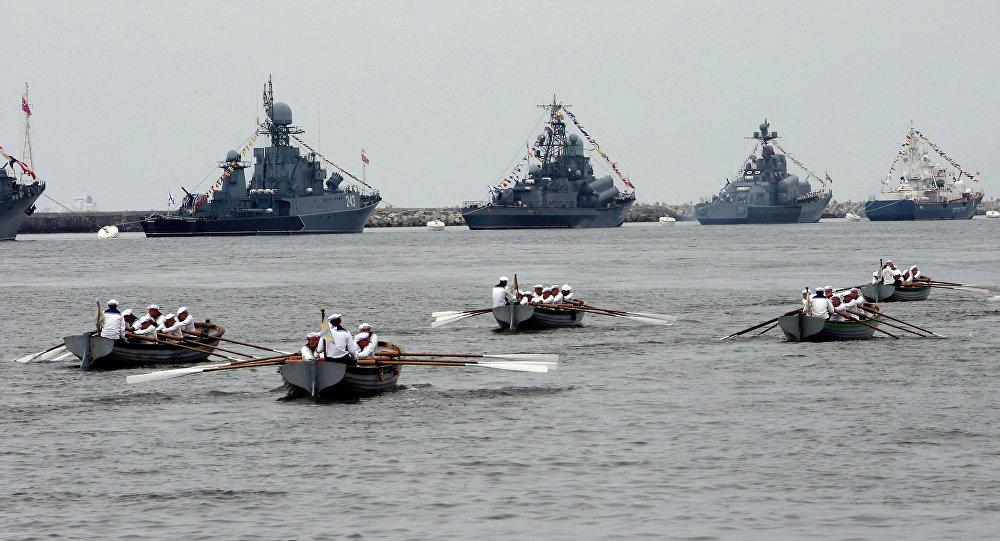 Buques de la Flota del Báltico (archivo)