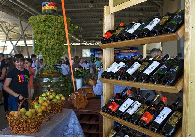 Los vinos de Crimea (archivo)