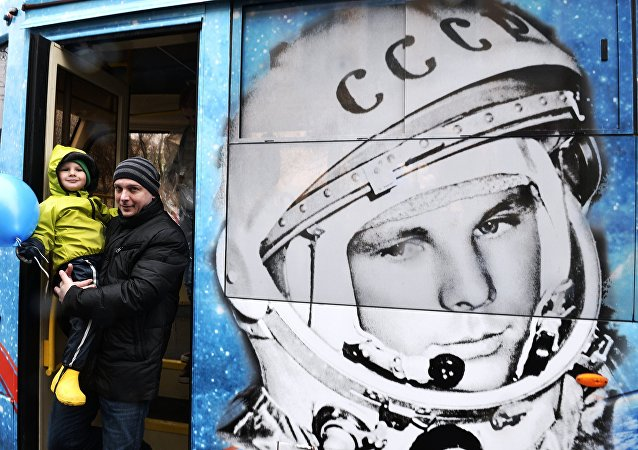 Retrato de Yuri Gagarin