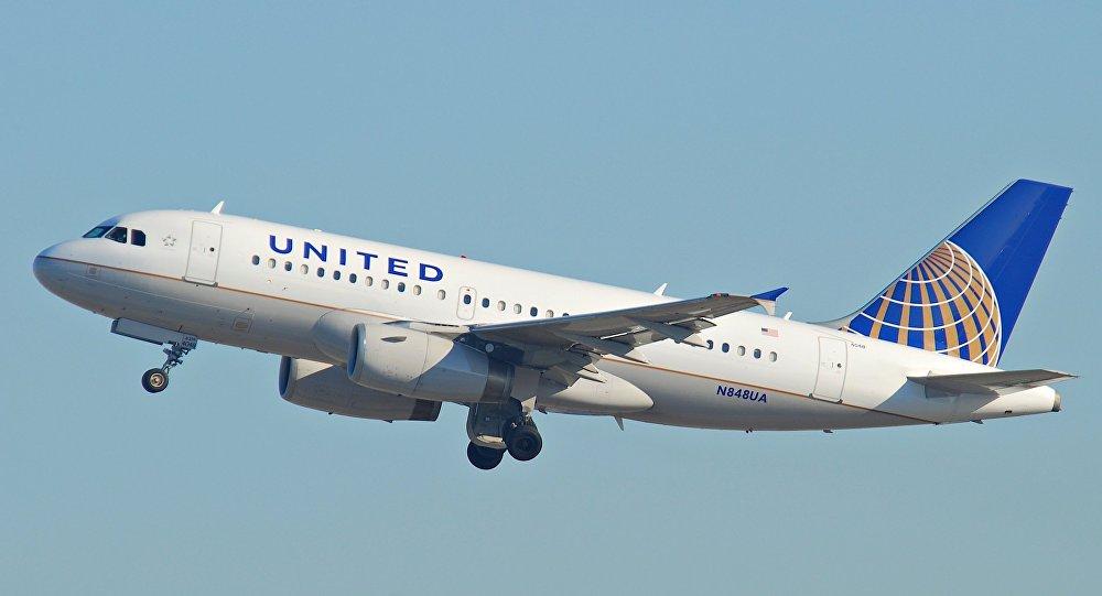 Avión de United
