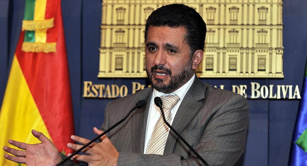 Sacha Llorenti, representante de Bolivia en el Consejo de Seguridad de la ONU