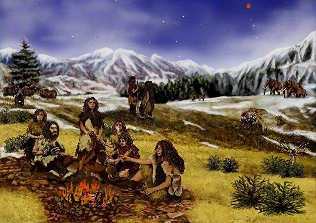 Gente antigua (ilustración)