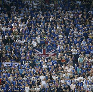 Hinchas del Leicester City