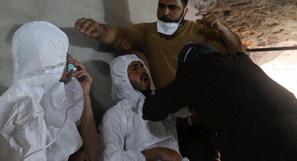 Después del ataque químico en Idlib (archivo)