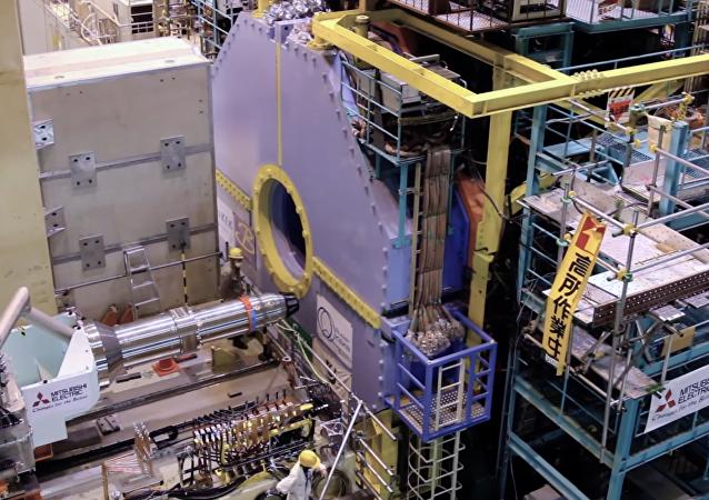 La instalación del detector Belle II en el potente colisionador nipón SuperKEK-B
