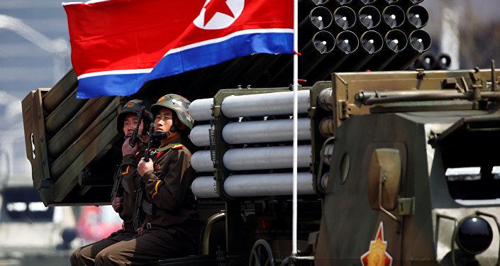 Desfile militar en Corea del Norte (imagen referencial)